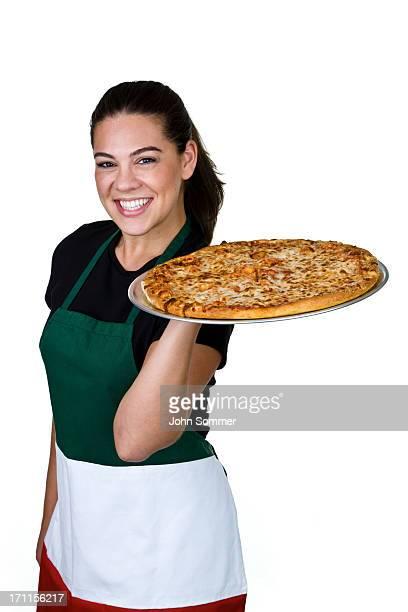 Fröhlich pizzeria Kellnerin