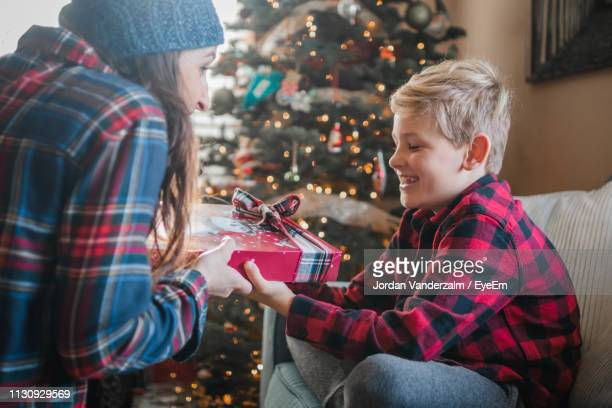 Christmas Gifts For Mom From Son.World S Best Christmas Gifts For Mom From Son Stock Pictures