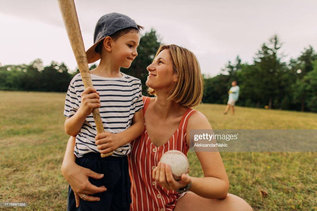 Cheering for my little player : Stock Photo
