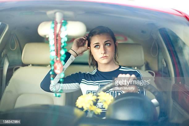 Cheerleader Driving