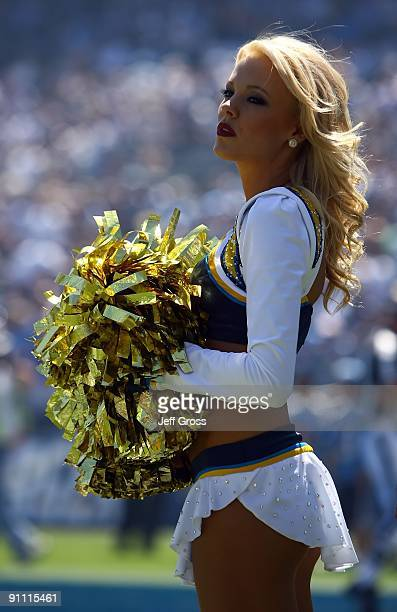 San Diego Chargers Cheerleaders Stock Photos And Pictures