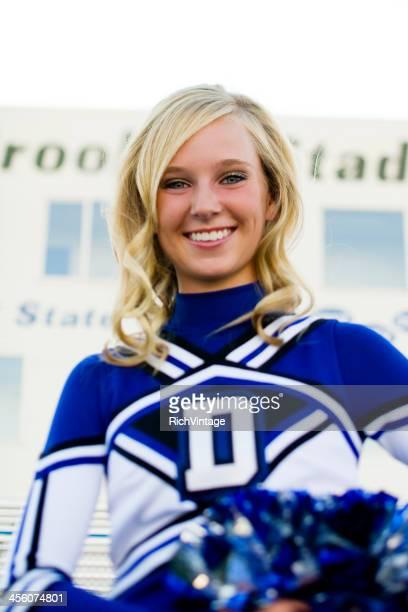 Cheerleader Portrait
