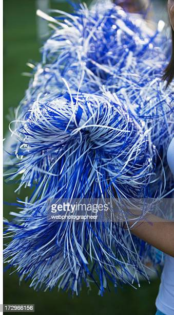 cheerleaders - pom pom stock pictures, royalty-free photos & images