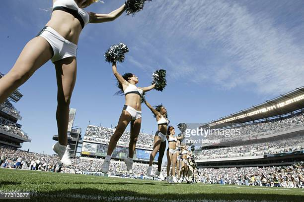 Cheerleaders The Philadelphia Eagles defeated the Baltimore Ravens 1510 at Lincoln Financial Field on Sunday October 31 2004 in Philadelphia PA