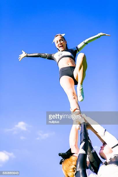 cheerleading team