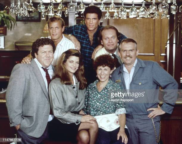 Cheers cast members pose for a portrait in October 1983 in Los Angeles California