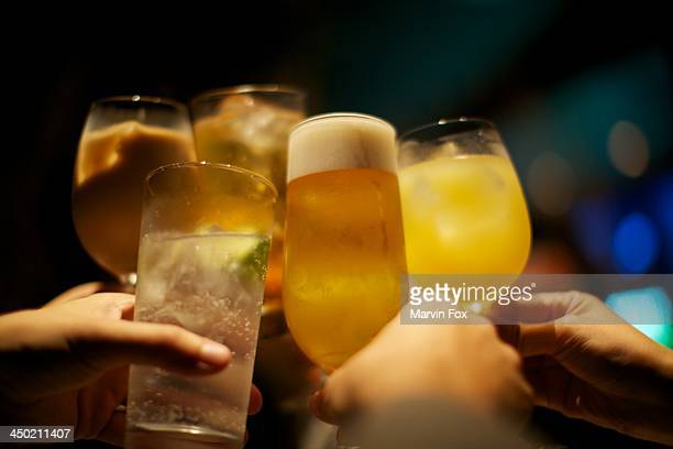 cheers - yonago stock photos and pictures