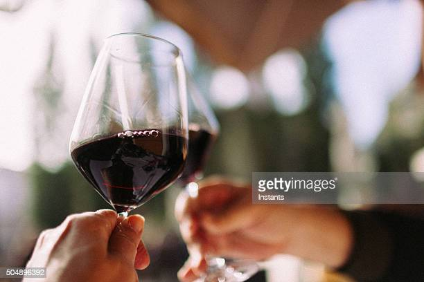 cheers - wine glass stock pictures, royalty-free photos & images