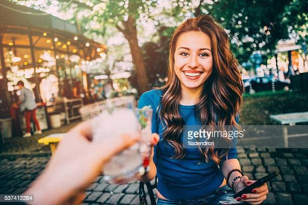 cheers - personal perspective stock pictures, royalty-free photos & images