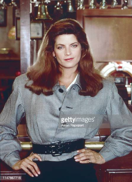 Cheers star Kirstie Alley poses for a portrait in October 1983 in Los Angeles California