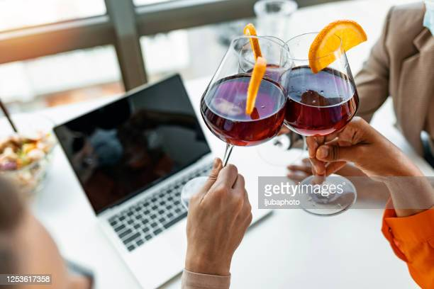 cheers to great success - happy hour stock pictures, royalty-free photos & images