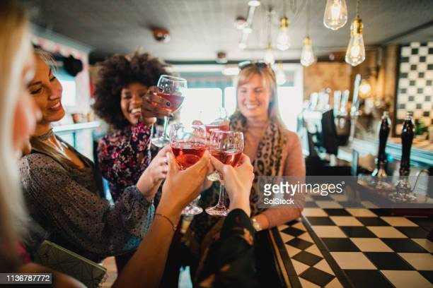 cheers to our friendship - showus stock pictures, royalty-free photos & images