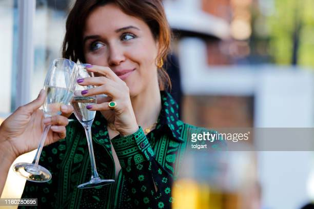 cheers to us! - congratulating stock pictures, royalty-free photos & images