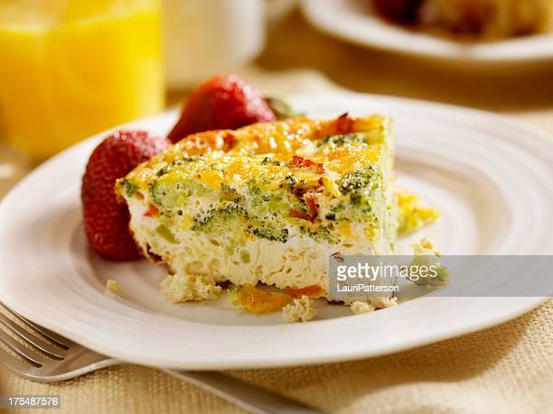 Fromage et brocoli Frittata