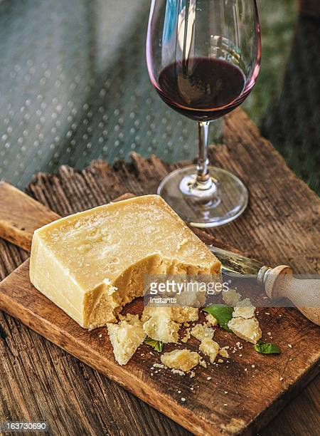 cheese and wine - parmesan cheese stock pictures, royalty-free photos & images