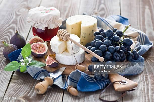 cheese board - anna verdina stock photos and pictures