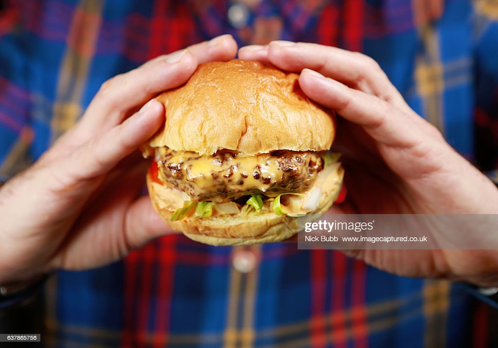 Cheese Burger : Stock-Foto