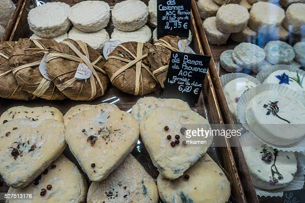 Cheese, Carpentras, Vaucluse, Provence-Alpes-Cote d'Azur, France