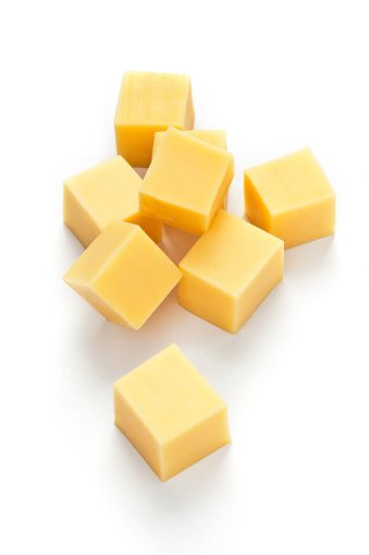 Cheese cubes 524385408