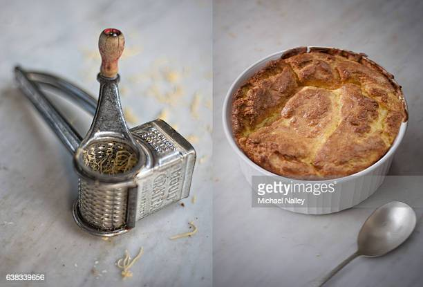 Cheese grater and soufflé