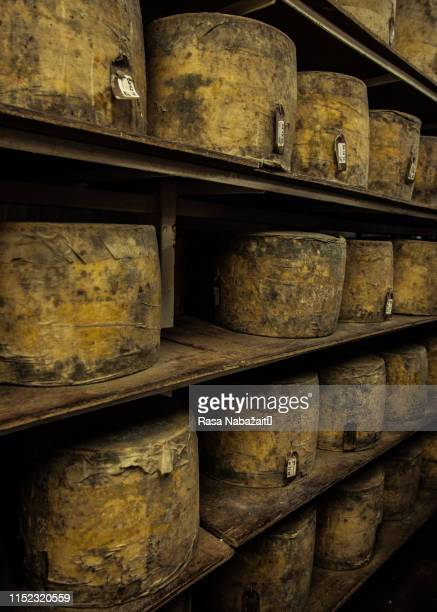 cheese maturing - artisanal food and drink stock pictures, royalty-free photos & images