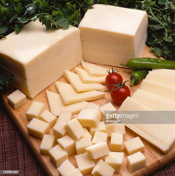 Cheese on a wood