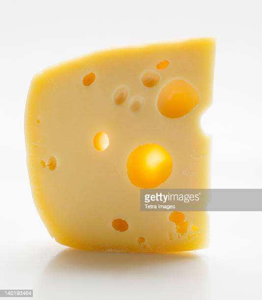 Cheese on white background, studio shot