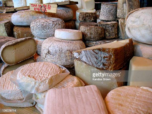 cheese - borough market stock photos and pictures