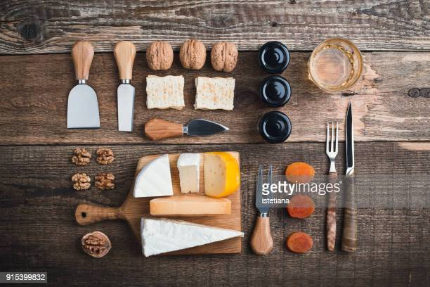 Cheese platter knolling style