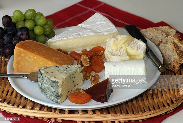 A cheese platter makes an easy elegant ending to a special meal