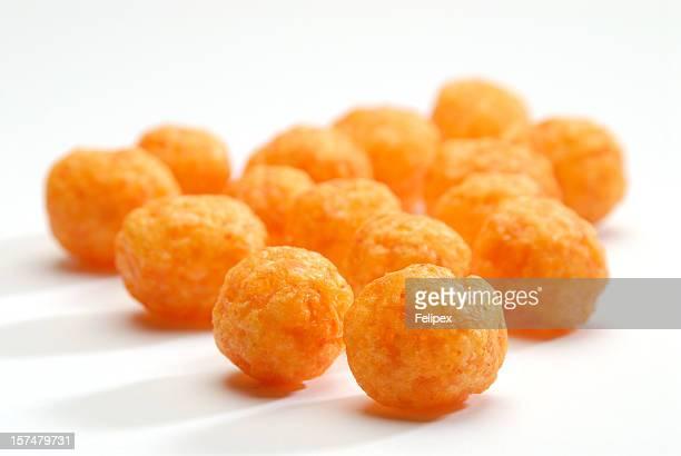 Cheese puff  balls.