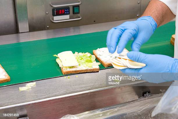Cheese Sandwich Production
