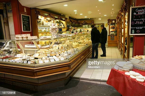 Cheese shop in Monmartre Paris