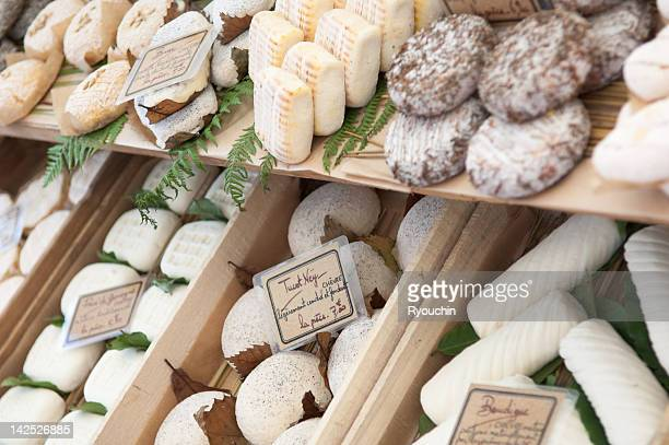 cheese shop - french culture stock pictures, royalty-free photos & images