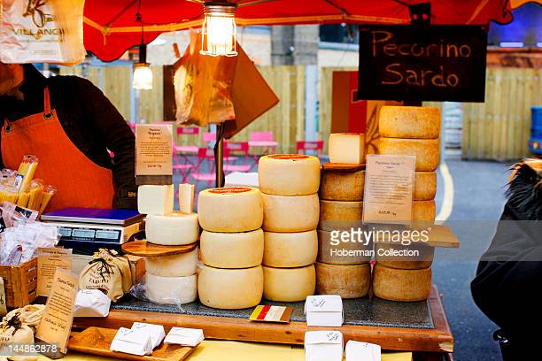 Cheese Stall Burough Market London