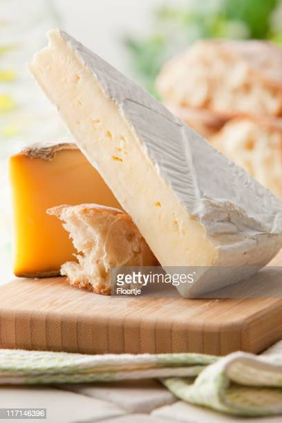 Cheese Stills: Brie, Tomme and Bread