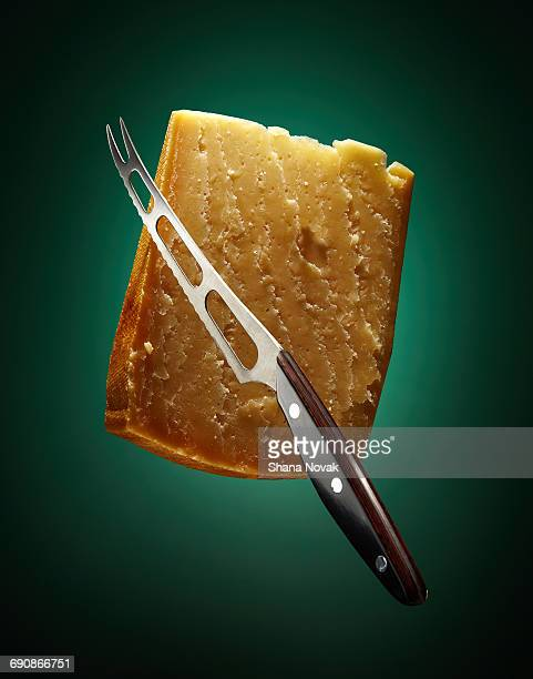Cheese with Knife