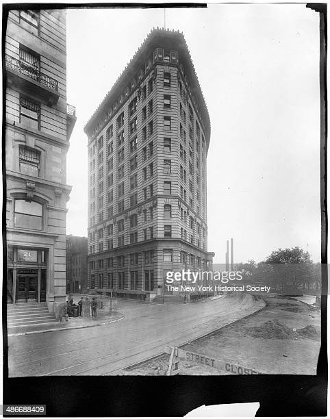 Cheeseborough Building on State Street at Battery Park, New York, New York, late 1890s.
