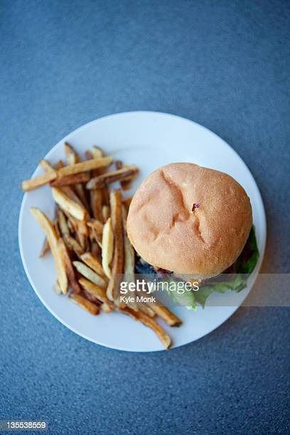 cheeseburger and french fries - cheeseburger stock pictures, royalty-free photos & images