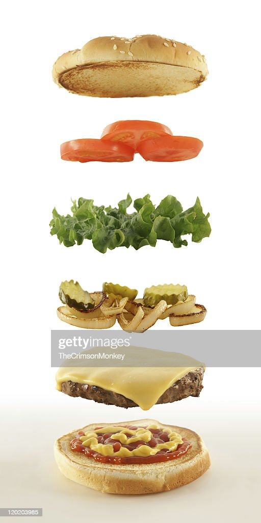 Cheeseburger : Stock Photo