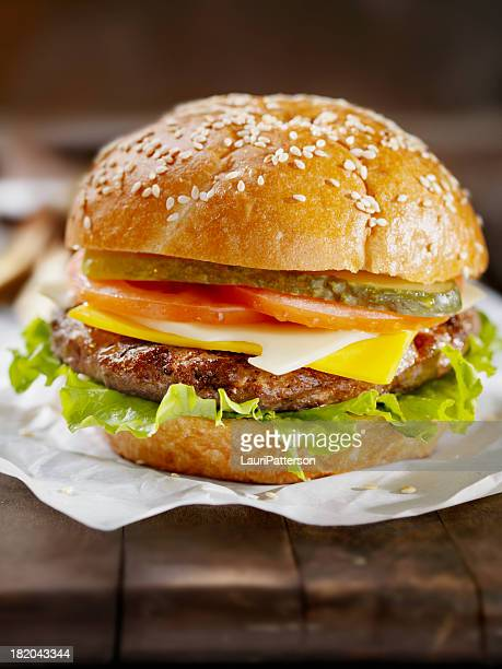 cheeseburger - pickled stock photos and pictures