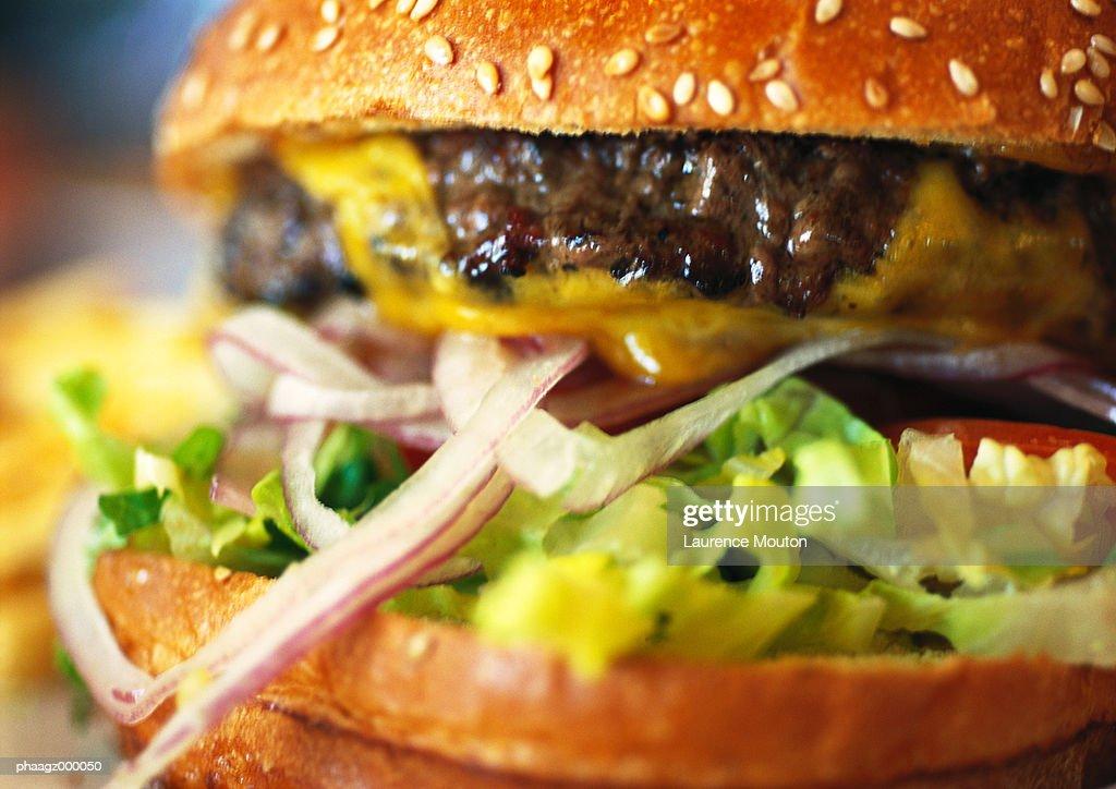 Cheeseburger : Stockfoto