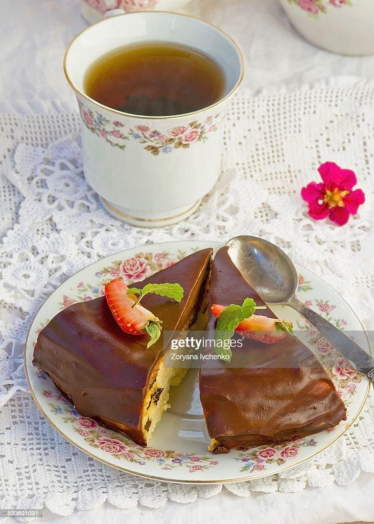 Cheesecake : Foto stock