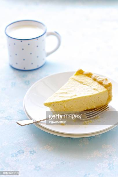 Cheesecake with milk