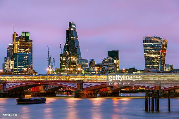 Cheesegrater and Walkie Talkie, London, England