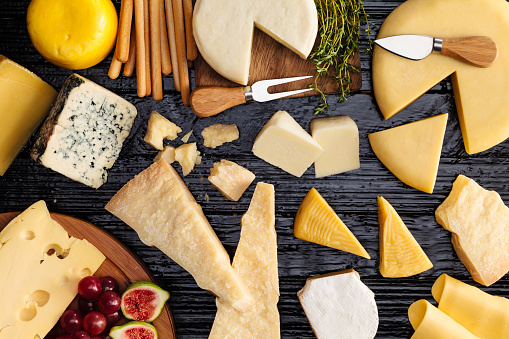 Cheeses selection 530418574