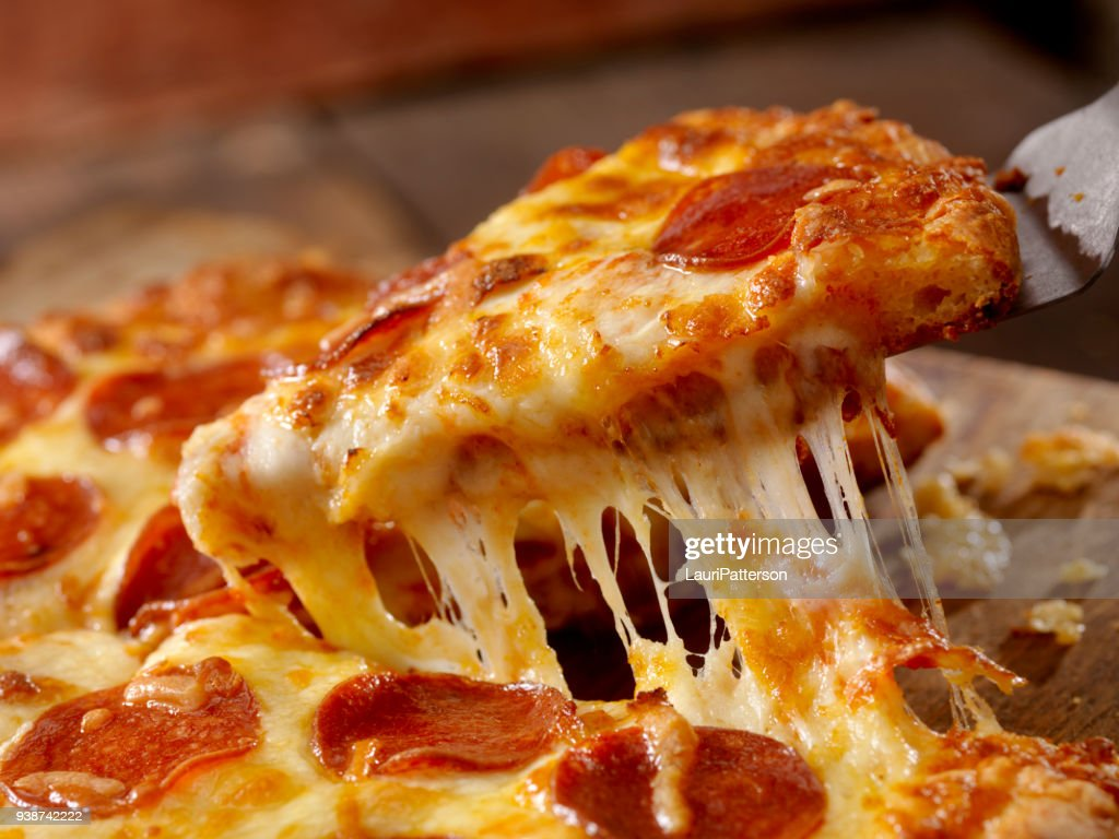 Pizza Pepperoni fromage : Photo