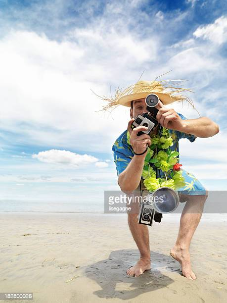 cheesy tourist - stereotypical stock pictures, royalty-free photos & images