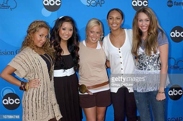 Cheetah Girls Brenda Song and Miley Cyrus