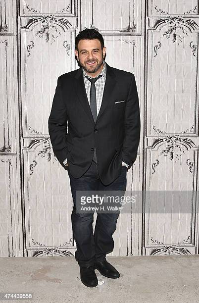 Chef Adam Richman attends the AOL BUILD Speaker Series at AOL Studios In New York on May 22 2015 in New York City